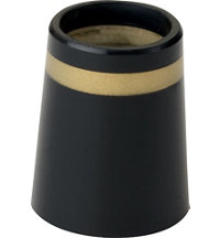 Unitized Iron Ferrule Black/Gold/Black Dozen