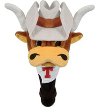 Collegiate Shaft Gripper Mascot Driver Headcover