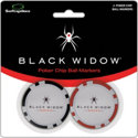 Pride Sports Black Widow Poker Chip Ball Markers