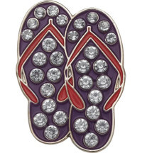 Sandals Crystal Ball Marker