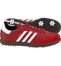 Men's Samba - Red/White/Gum Golf Shoes