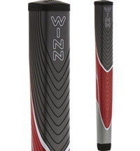 Excel JumboLite Gray/Red/Stone Pistol Putter Grip (+1/8