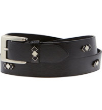 Women's Argyle Concho Metallic Pebble Belt