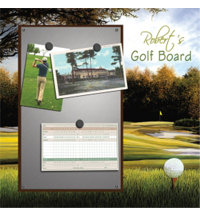 Personalized Golfer's Brag Board