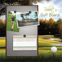 Solstice Arts Personalized Golfer's Brag Board