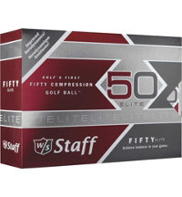 Personalized Fifty Elite Golf Balls