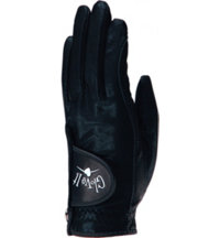 Women's Golf Glove (Black Clear Dot)