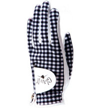 Women's Golf Glove (Gingham Print)