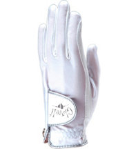 Women's Golf Glove (White Clear Dot)