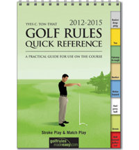 Men's 2012-2015 Golf Rules Quick Reference Guide