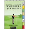 Booklegger Men's 2012-2015 Golf Rules Quick Reference Guide