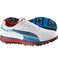Men's FaasTrac EvoSpeed Golf Shoes (White/Limoges/Red)