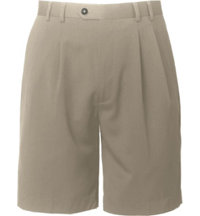 Men's Big & Tall Gabardine Microfiber Shorts