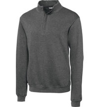 Men's Big & Tall Journey Supima Flatback Half-Zip Pullover