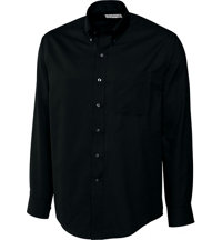 Men's Big & Tall Long Sleeve Easy Care Fine Twill Shirt
