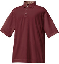 Men's Essential ProDry Solid Lisle Short Sleeve Polo
