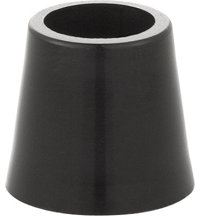 .335 Black Wood Ferrule - Package of 4