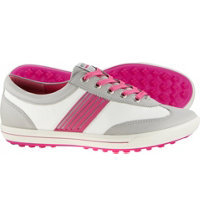 Women's Golf Street Sport Shoes - Concrete/White/Candy