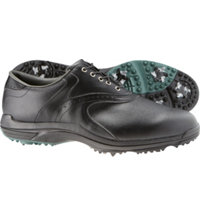 Men's Closeout GreenJoys Golf Shoes - Black (FJ#45462)