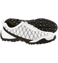 Women's Closeout Summer Series Spikeless Golf Shoes - FJ#98951 (White/Black)
