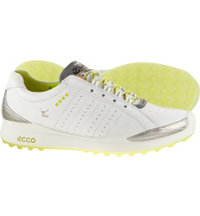 Women's BIOM Hybrid Spikeless Golf Shoes - White/Lime Punch