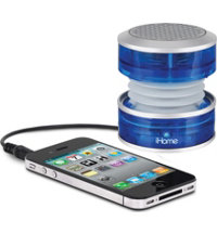 Rechargeable Crystal Tunes Mini-Speaker