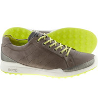Men's BIOM Hybrid Golf Shoes - Warm Grey/Lime Punch