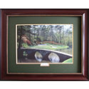 CGI Sports Memories Framed Art - Augusta National 12th Hole with Mahogany Frame (34