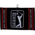 PGA Tour Woven Jacquard Towel