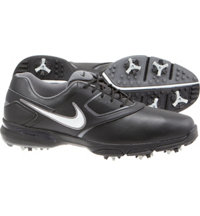 Men's Heritage III Golf Shoes  - Black/Metallic Silver/Black/Metallic Dark Gray