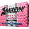 SRIXON Prior Generation Soft Feel Lady Pure White Golf Balls