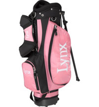 Junior Girl's Pink Stand Bag - Ages 7-9
