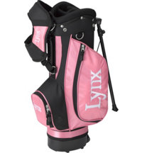 Junior Girl's Pink Stand Bag - Ages 4-6