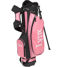 Junior Girl's Pink Stand Bag - Ages 10-12