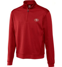 Men's NFL DryTec Edge Half Zip Pullover