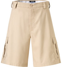Men's Players Flat-Front Cargo Shorts