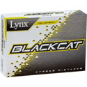 Lynx Black Cat Yellow Golf Balls