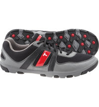 Men's TRUE sensei Golf Shoes - Black/Charcoal