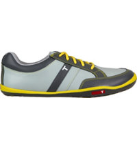 Men's TRUE phx Golf Shoes -Grey/Charcoal/Yellow