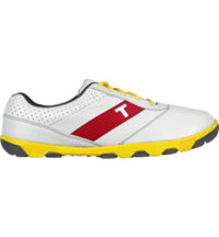 Men's TRUE proto Golf Shoes - White/Yellow/Charcoal