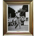 CGI Sports Memories Framed Art - Byron Nelson 1945 Chicago Open with Antique Silver Frame (27