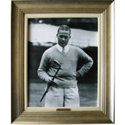 CGI Sports Memories Framed Art - Bobby Jones & Calamity Jane 1928 with Antique Silver Frame (27