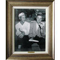 CGI Sports Memories Framed Art - Sam Snead & Arnold Palmer 1951 Masters with Antique Silver Frame (27