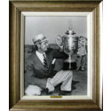CGI Sports Memories Framed Art - Sam Snead 1951 PGA with Antique Silver Frame (27