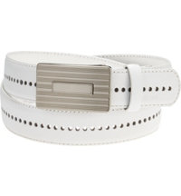 Men's Players Perforated Belt