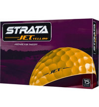 Jet Yellow Golf Balls- 15 Pack