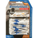 Pride Golf Tee Co. Evolution Combo Pack (40 count 3 1/4