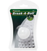 Break A Ball Shattering Golf Ball