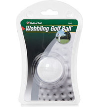 Wobbly Gag Golf Ball