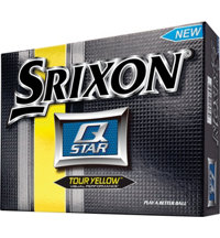 Q-Star Tour Yellow Golf Balls